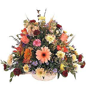 Flowers delivery to Russia - bouquet 'Summer Sunset'