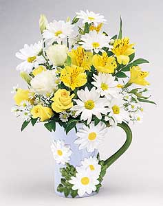 Flowers delivery to Russia - bouquet 'Large Sunshine and Smiles'