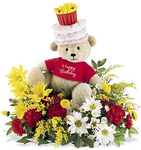 Flowers delivery to Russia - arrangement 'Bear Hug'