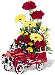 Flowers delivery to Russia - arrangement 'Baby''s First Wagon'