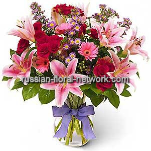 Flowers delivery to Russia - bouquet 'The Brightest Star'